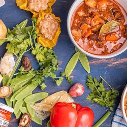 Feast Box Dumpling Recipe Kits with Fresh Ingredients