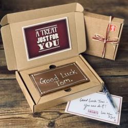 Personalised Letterbox Millionaire Shortbread