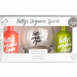 Fatty's Organic Miniature Gift Set With Glass