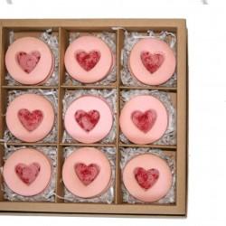 Valentine's Alfajores Gift Box (9 Biscuits)