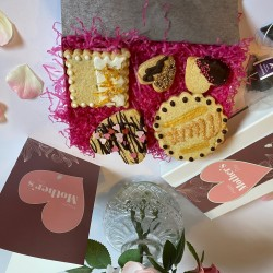 Mother's Day Luxury Biscuit Box with tea