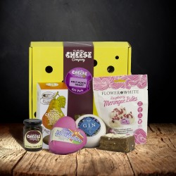 Mothers Day Heart Cheese Gift Box