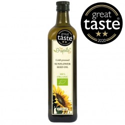 Cold Pressed Organic Sunflower Seed Oil