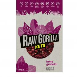 Raw Gorilla Berry Granola Keto