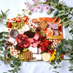 Gourmet Marshmallows and S'mores Grazing Platter
