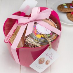 Limited Edition Pink Baking Mix Gift Set with Baking Mix Jar