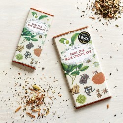 Handmade Botanicals Chai Tea Milk Chocolate Bars (3 pack)