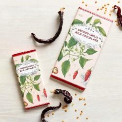 Handmade Botanicals Smoked Chilli Milk Chocolate Bars (3 bars)