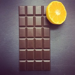 3 Handmade Dairy Free Milk Chocolate Bars with Orange