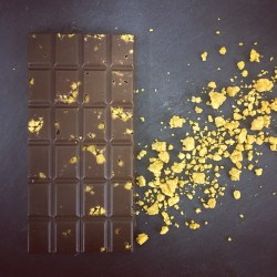 3 Handmade Dairy Free Milk Chocolate Bars with Honeycomb