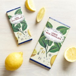 Handmade Botanicals Lemon Milk Chocolate Bars (3 pack)