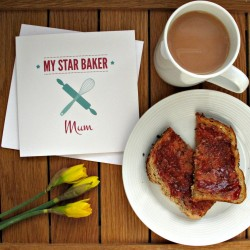 My Star Baker Mum Mother's Day Card