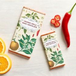 Handmade Botanicals Orange Chilli Dark Chocolate Bars (3 pack)