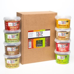 'Taste the World' 8 Rub Hamper Gift Box