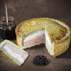 Large Huntsman Pork Pie