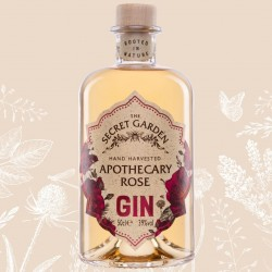 Hand Harvested Apothecary Rose Gin (50cl)