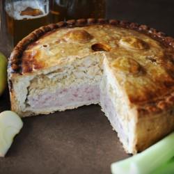 Large Scrumpy Pork Pie