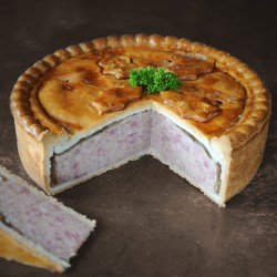 Traditional Cutting Pork Pie ( Large)