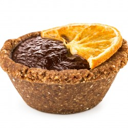 Raw Vegan Chocolate Orange Tart (Box of 6)