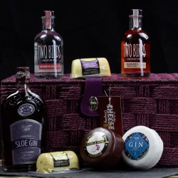 Three Gin & Four Cheese Gift Hamper
