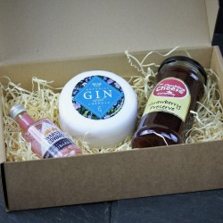 Gin and Cheese Gift Box