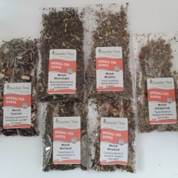 Herbal Loose Leaf Tea Sample Collection