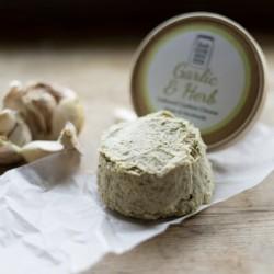 Handmade Vegan Garlic & Herb Cheese (120g)