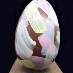 Hand Painted Dark Easter Egg