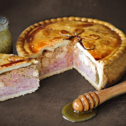 Large Yorkshire Farmers Pork Pie 2.2kg