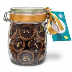 Raw Vegan Mini Millionaires Tarts With Gift Jar (24 Tarts)