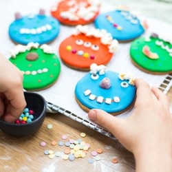 Personalised Monster Biscuit Baking And Craft Kit Gift