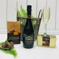 Prosecco and Chocolate Treats Gift Basket