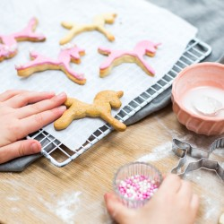 Personalised Unicorn Biscuit Baking Kit Gift