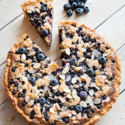 Blueberry and Almond Tart (Gluten & Dairy Free)