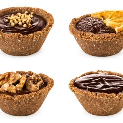 Raw Vegan & Gluten Free Tarts - Pick and Mix (9 Tarts)
