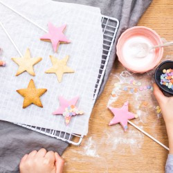 Personalised Fairy Wand Biscuit Baking Kit