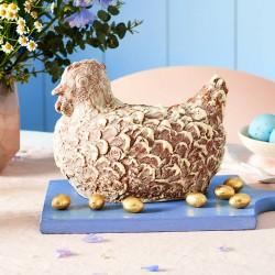 Chocolate Hen And Mini Chocolate Eggs