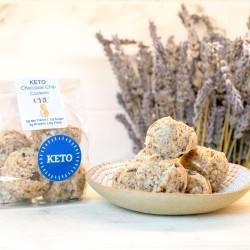 Raw Keto Chocolate Chip Macaroons