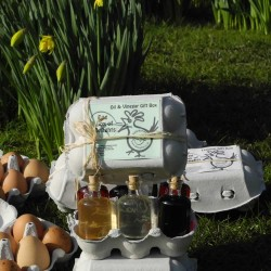 Demijohn Egg Box of Delights - Oil & Vinegar Gift Set
