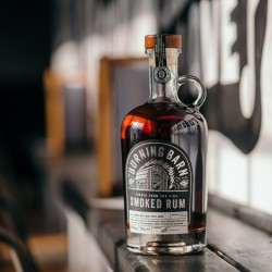 Burning Barn Premium Smoked Rum (70cl)