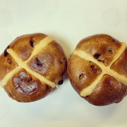 Gluten Free Hot Cross Buns - Vegan Hot Cross Buns (Box of 10)