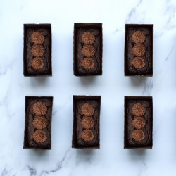 Luxury Chocolate Cake 6 Mini Loafs - Gluten Free and Vegan