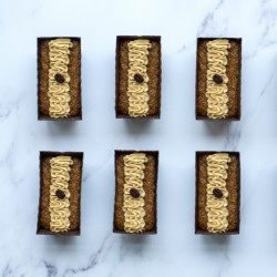 Luxury Coffee Cake Box 6 Mini Loaves- Gluten Free & Vegan