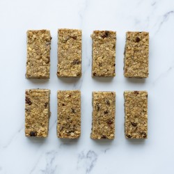 Fruit and Nut Granola Bars - Box of 8 | Gluten Free and Vegan