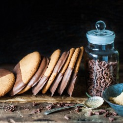 Williams Milk Chocolate Ginger Biscuits