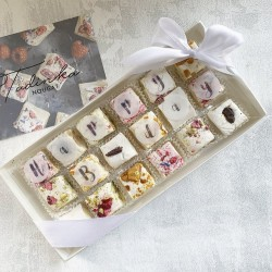 Birthday Deluxe Nougat Gift Box (18 pieces)