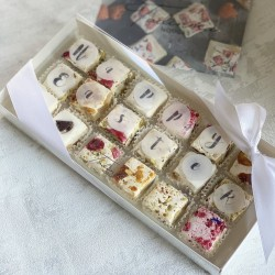 Happy Easter Deluxe Nougat Gift Box (18 pieces)