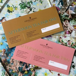 Voucher For Chocolate Afternoon Tea