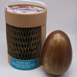 Milk Chocolate Easter Egg with Trevethan Gin Rocky Road Chocolates Inside