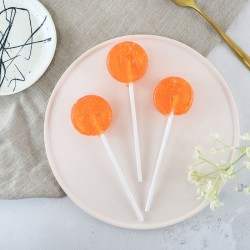 Alcoholic Peach Bellini Lollipops (Pack of 5)